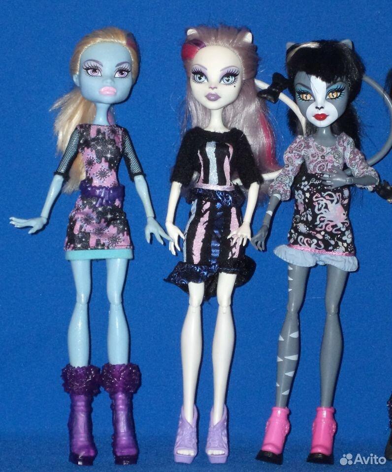 Куклы Монстер хай: Эбби, горгона, пчелка  89307162691 купить 2