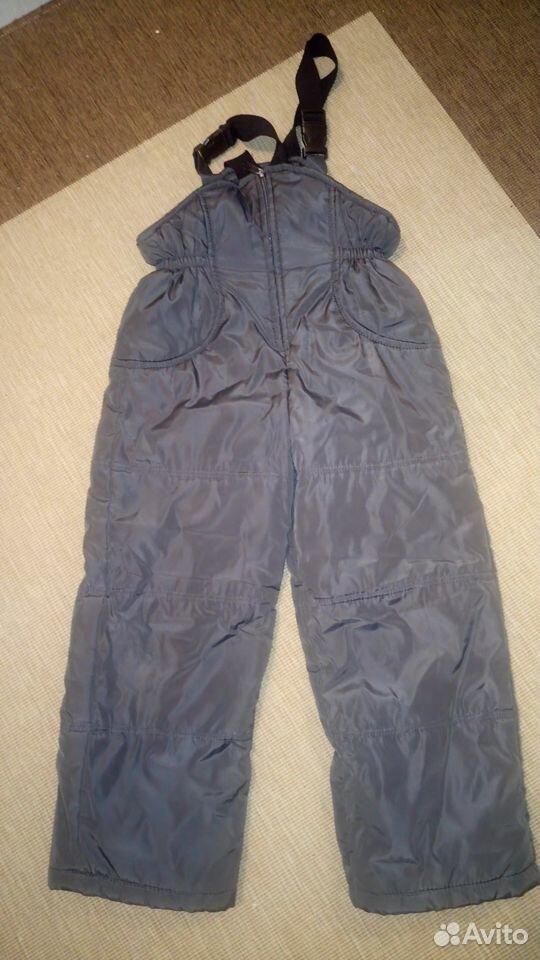 Зимние брюки для мальчика, 122-128 см  89097803574 купить 1