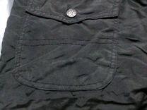 Утепленные брюки. черные на флисе 46-48 на167