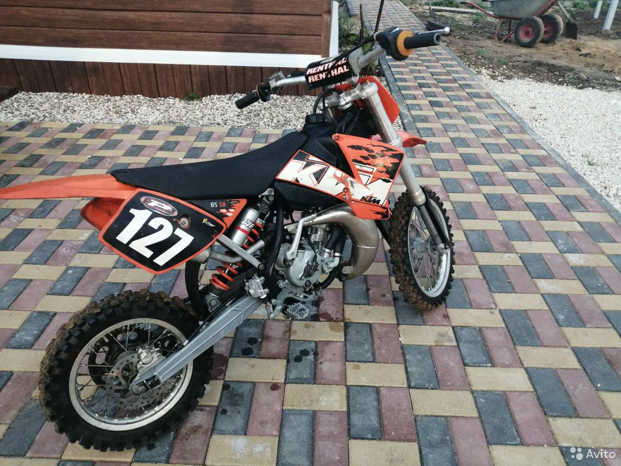Мотоцикл KTM 65 sx  89190119599 купить 2