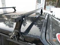Багажник для автомобиля с водостоками 115см заказ