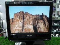 """Телевизор Izumi 15"""" (матр.SAMSUNG) + dvb-t2 тюнер"""