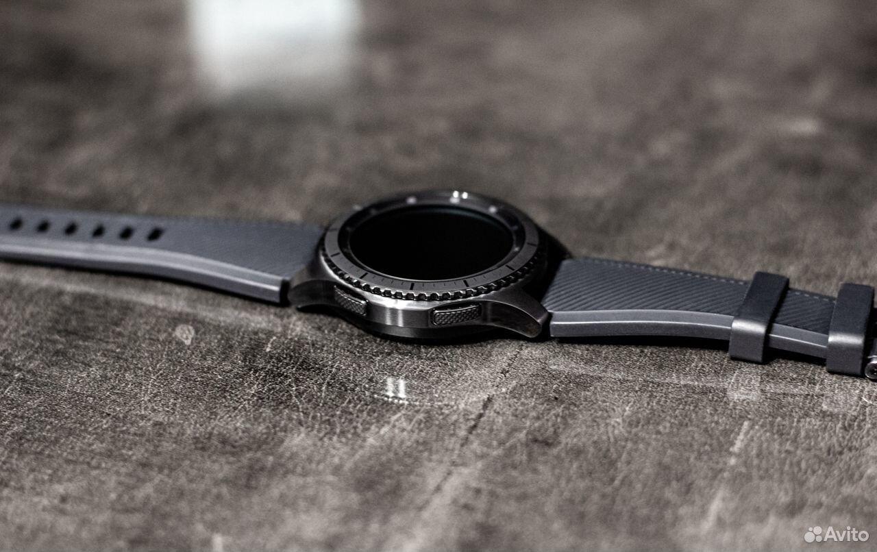 Часы SAMSUNG Gear S3 Frontier  89378001620 купить 6