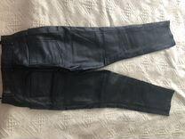 Кожаные брюки, состояние новых