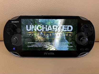 PlayStation Vita + карта 16GB + игры