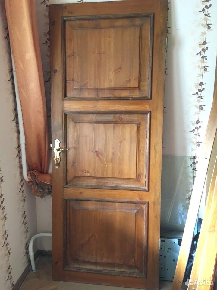 Дверь деревянная филенчатая мореная  89372752006 купить 2