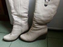 Сапоги зимние,кожаные 37