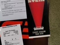 Билет на концерт Rammstein в Санкт-Петербурге 2.08
