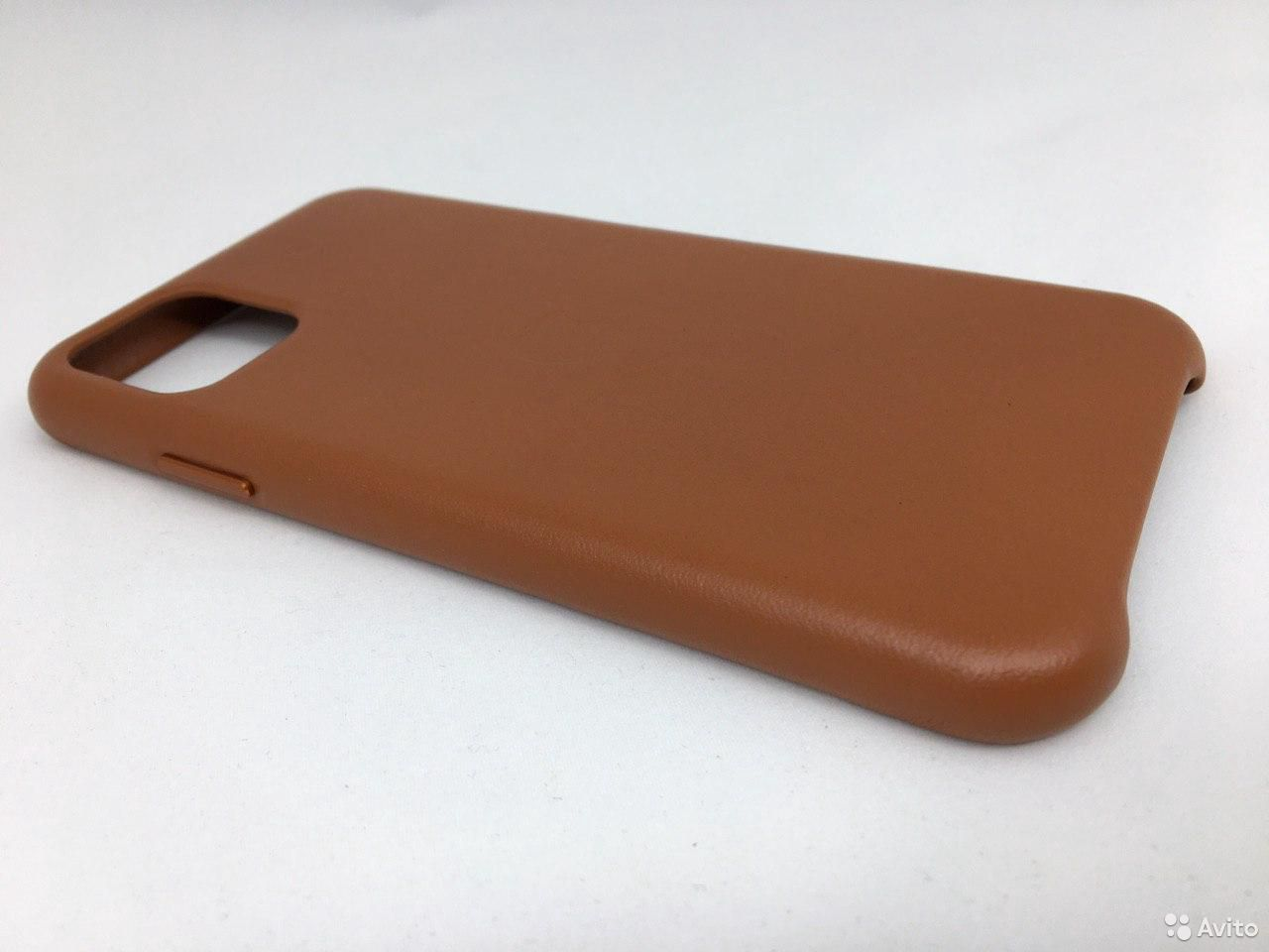 Кожаный чехол Leather Case Apple iPhone 11 Brown  89112002770 купить 4