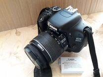 Фотоапарат Canon eos600d