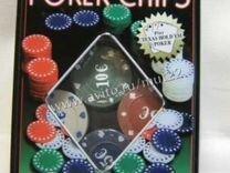 Средний покерный набор с 1-й колодой карт