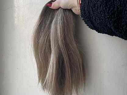 Волосы срез