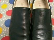 Туфли Зебра летние для мальчика кожаные 37 размер