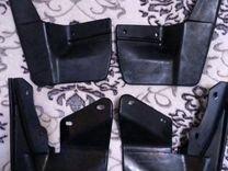 Комплект брызговиков ваз-2110