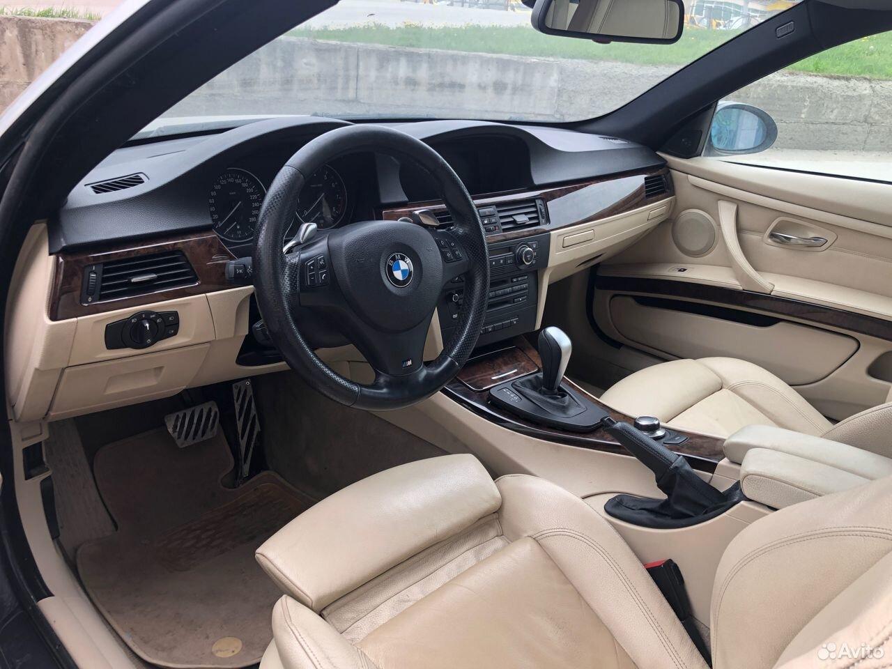 Спорт салон сиденья BMW E92 в сборе (бежевая кожа)  89638577308 купить 1