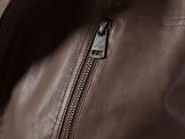 Мужская куртка из натуральной кожи finn flare