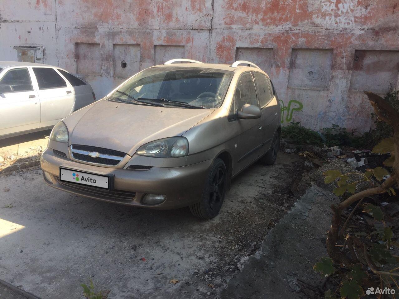 Chevrolet Rezzo, 2006  89184502898 купить 1