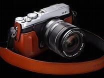 Fujifilm X-E1(16-50мм) 16гб.Сумка.Коробка.Чехол