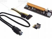 Райзеры Esonic 6PIN ver009 USB3.0 60см