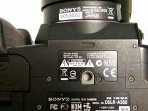 Sony A350,зеркальный, объектив 18-55mm