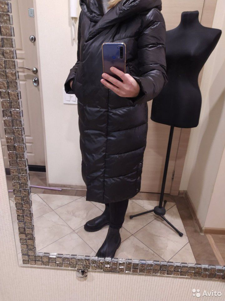 Новый зимний пуховик р.46-48  89038193528 купить 10