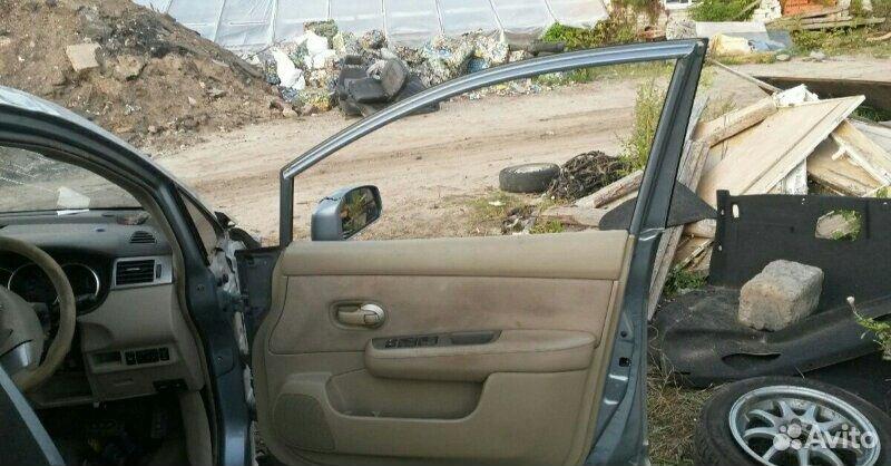 Дверь передняя правая Nissan Tiida latio HR15DE  89534094813 купить 3