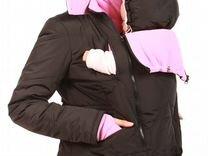 Продам зимнюю слингокуртку YammyMammy 3 в 1